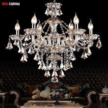 Люстра Современная хрустальная люстра с кристаллами освещение Освещение Гостиная Спальня Освещение светильники для столовой