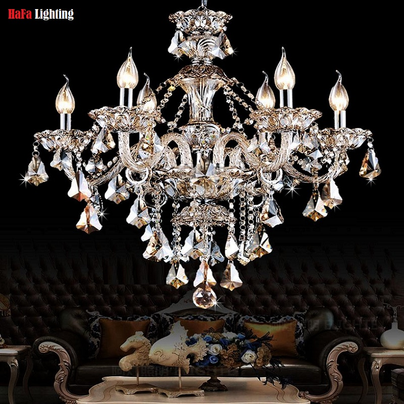 Chandelier modern crystal chandelier light chandelier for Modern crystal chandelier for dining room