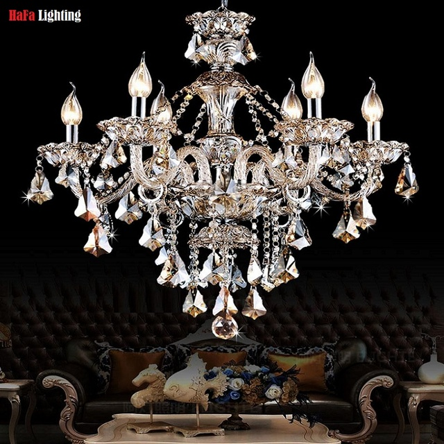 Chandelier Modern Crystal Light Lighting Living Room Bedroom Fixtures Dining