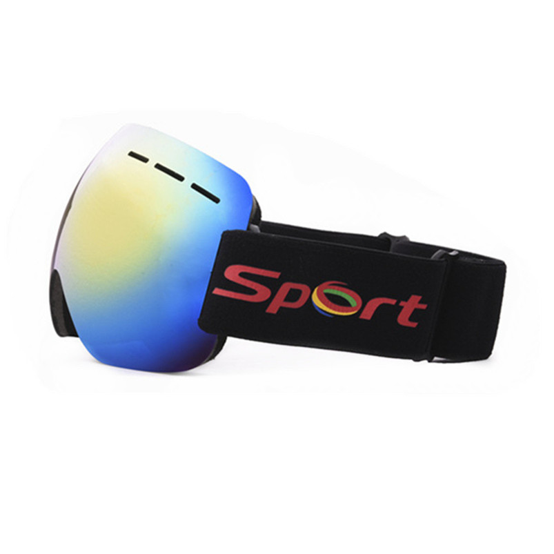 Snowboard Ski Goggles Gear Skiing Sport Adult Glasses Anti-fog UV Dual Lens Skiing Eyewear Outdoor sports Equipment #4S22 (4)