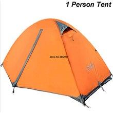 2 KG Unti UV Ultraleicht Zelt 1 Personen Doppelschichten Reise Angeln Strand Zelt Outdoor Zelte Camping hohe Qualität