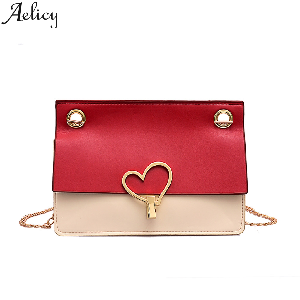 Aelicy Love Lock Buckle Handbag Designer Handbag High Quality Chain Ladies And Ladies Messenger Bag Mini Shoulder Bags For WomanAelicy Love Lock Buckle Handbag Designer Handbag High Quality Chain Ladies And Ladies Messenger Bag Mini Shoulder Bags For Woman