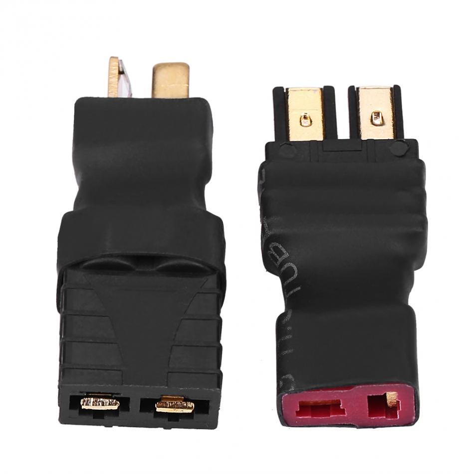 New 2pcs T Plug Female To TRX Male 2pcs T Plug Male To TRX Female Connectors