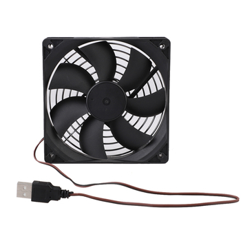 80*80MM Computer PC 120mm Fan TV Box Wireless Router Cooling USB 5V Cable Interface Pet Box Heatsink Cooler High Quality image