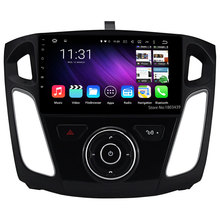 Quad Core DAB+ 3G WIFI Android 5.1.1 9″ 1024*600 FM USB DAB+ Car DVD Player Radio Audio Stereo Screen For Ford Focus 3 2011-2015