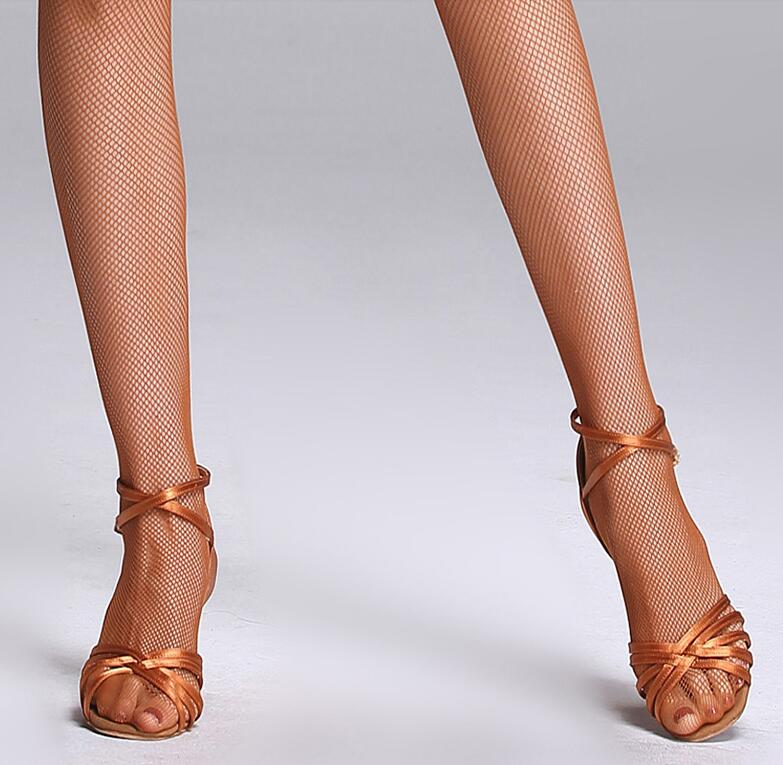 49a47e079ccde Women Practise Latin Dance Pantyhose Stockings Socks Fishnet Seamless  Tights Ballet Dancing Black Coffee Free Shipping-in Latin from Novelty &  Special Use ...