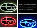 4D LED Car Decal Tail Logo Light Badge Emblem Sticker for FORESTER&Legacy/Impreza&Outback/Tribeca&XV