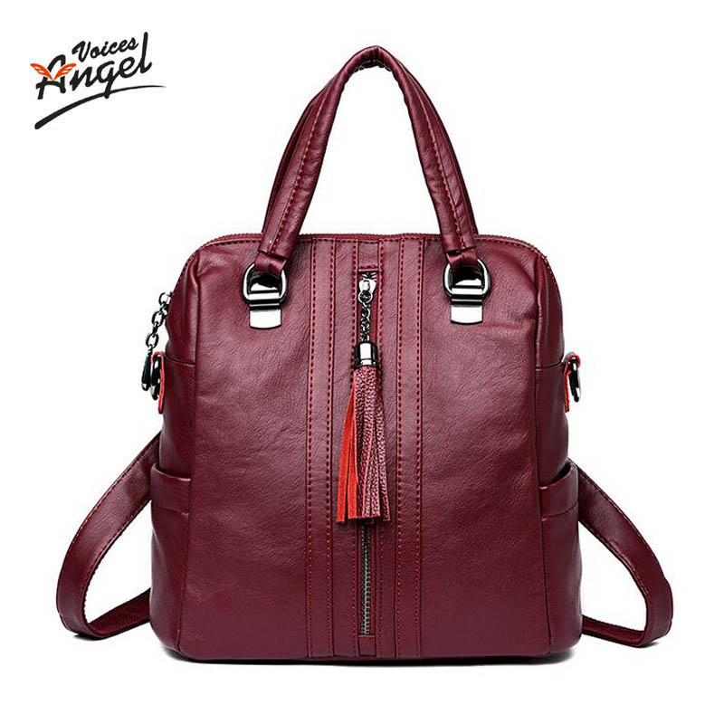 Women Backpacks Women's  Genuine Leather Backpacks Female School Shoulder bags Teenage girls college student casual bag menghuo casual backpacks embroidery girls school bag female backpack school shoulder bags teenage girls college student bag