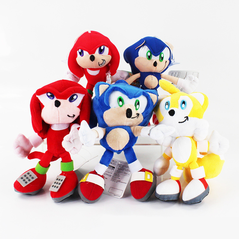 20cm Super Sonic Plush Dolls Sonic Boom Plush Toys Cartoon T…
