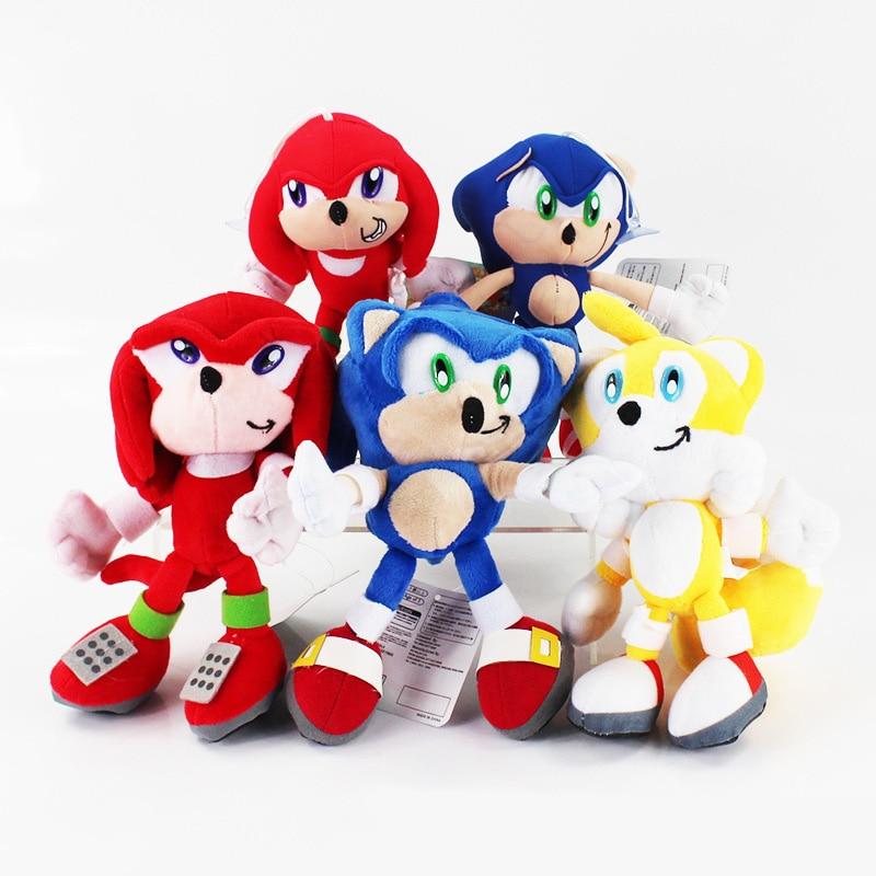 20cm super sonic pelúcia bonecas sonic boom brinquedos de pelúcia dos desenhos animados tv sonic figura boneca frete grátis