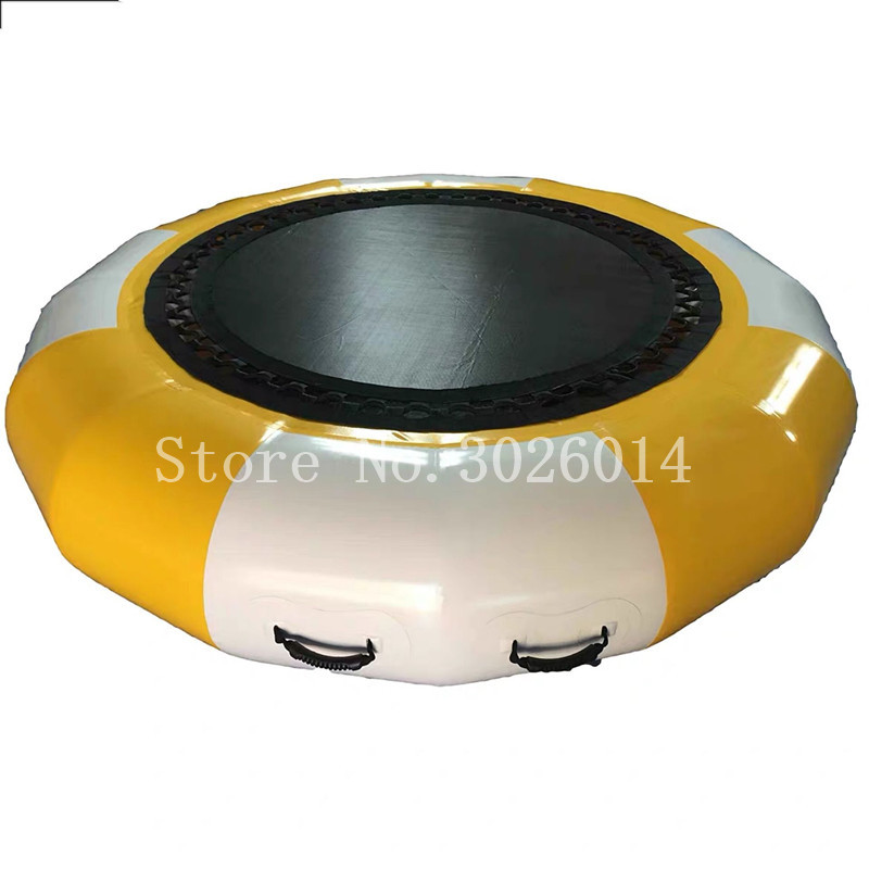 Free Shipping Water Trampoline 3M Diameter PVC Water Jumping Bed Toy Playing On The Water Summer Inflatable ToysFree Shipping Water Trampoline 3M Diameter PVC Water Jumping Bed Toy Playing On The Water Summer Inflatable Toys