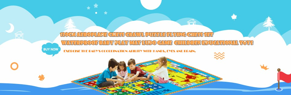 Ludo Pattern Play Mats for Children1