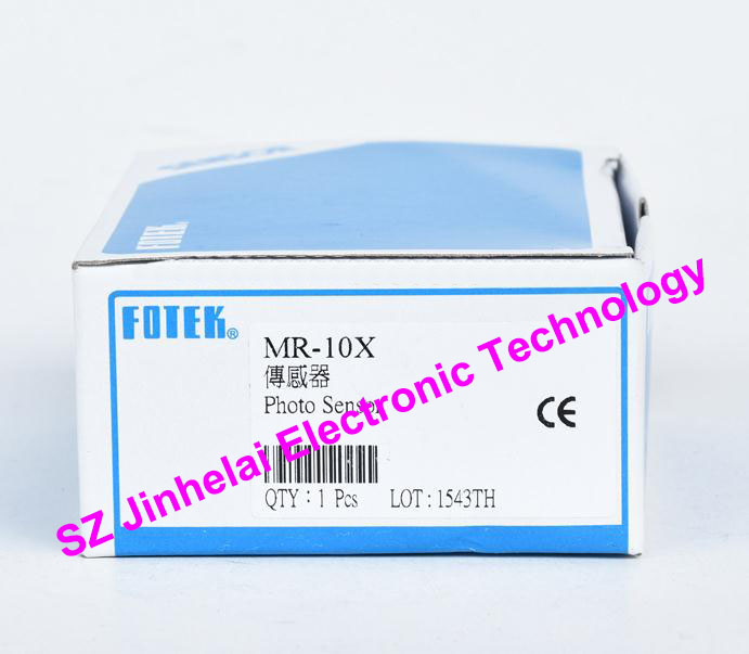 100% New and original FOTEK Photoelectric switch  MR-10X   NPN 100% new and original fotek photoelectric switch mr 60x npn output