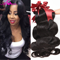 Ali Coco Hair Weave Peruvian Virgin Hair Body Wave 3pcs Human Hair Extensions 8A Unprocessed Virgin Hair Peruvian Body Wave #1B