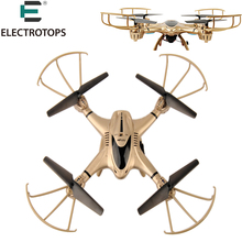 ET RC Drone MJX X401H Altitude Hold WiFi FPV 2.4GHz 0.3MP CAM 4CH 6 Axis Gyro Quadcopter Dual Transmitter / APP Mode VS X5C