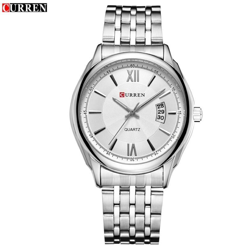 FASHION Small Dial Waterproof Calendar Quartz Watch Of Wrist Of Neutral Fashion New Outdoor Leisure Business Men Quartz Watch