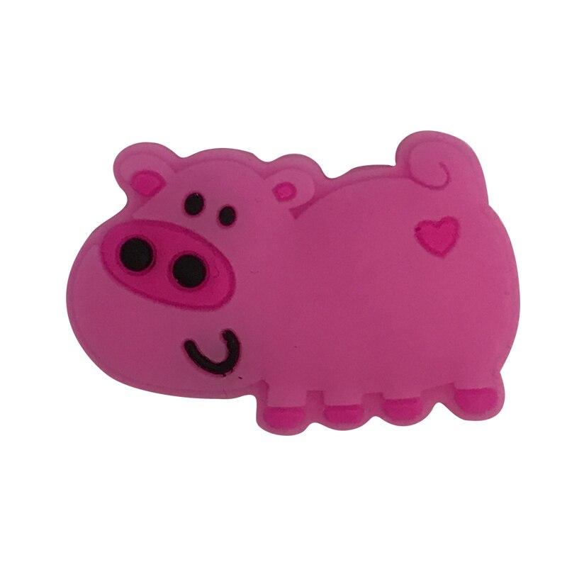 Free Shipping(5pcs/lot)pink Pig Tennis Vibration Dampener