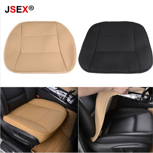 Universal Luxury Car Seat Protector Cover Cushions Pads PU Leather Side Around Seat Cover Car-Styling Four Seasons