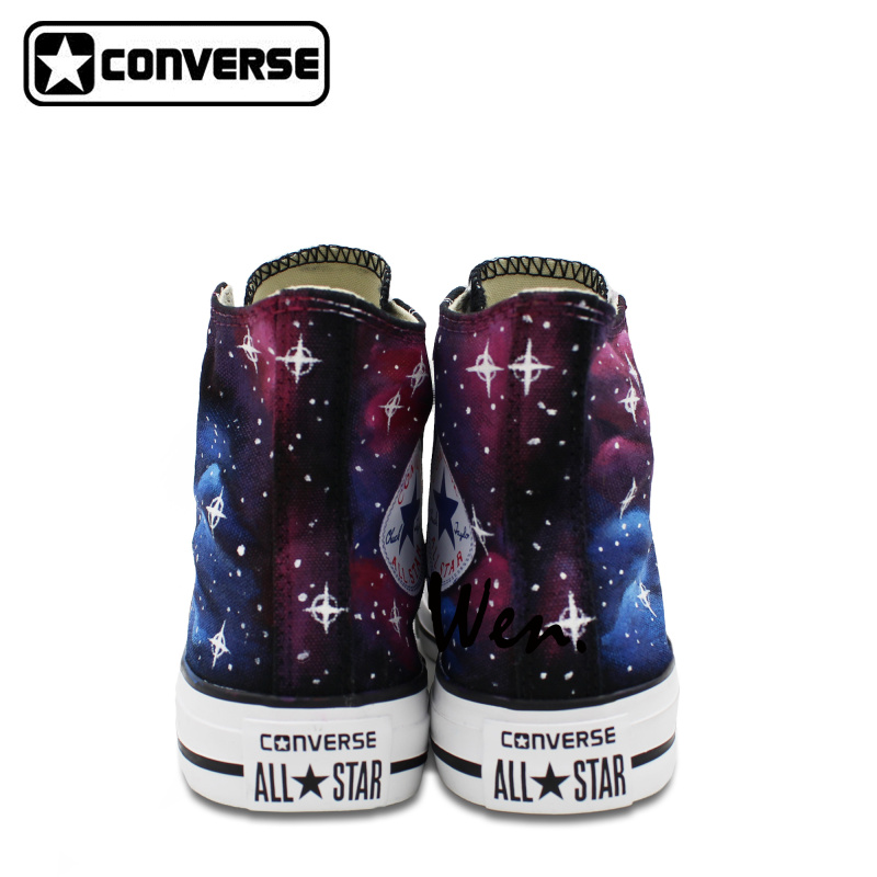 custom galaxy shoes