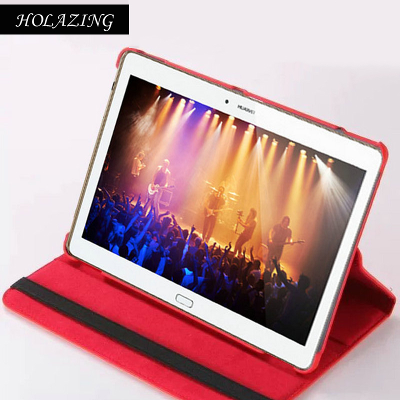 360 Degree Rotation Case For Huawei MediaPad M2 10.0 inch PU Leather Smart Stand Cover Coque Funda