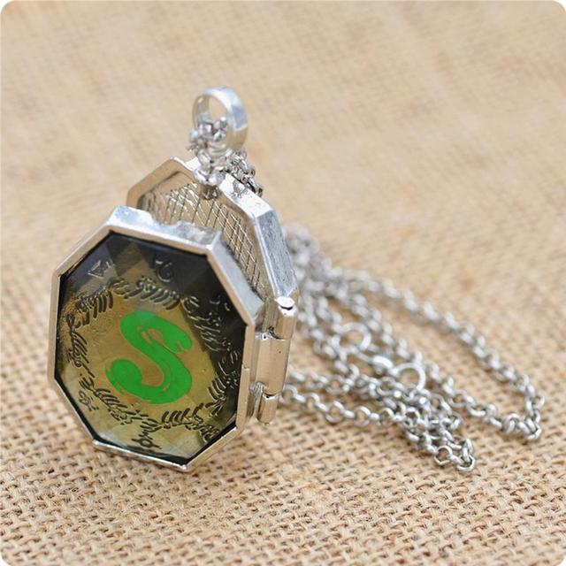 2017 Top Fashion Rushed Link Chain Collier Collares Maxi Necklace European American Movie Harry Potter Horcrux Pendant Necklace