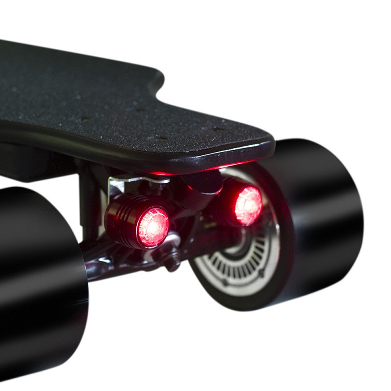 Electric Skateboard LED Warning Night Safety Light Night Riding Warning Lights Four Wheels Long Board Lights