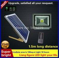 Открытый солнечные лампы Мощность свет сада 10 Вт 12 В LED Солнечный Прожектор солнечный светильник для двор сад
