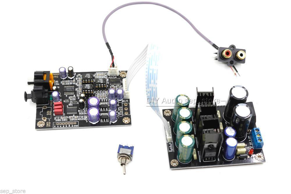Assembled Decoder CS8416 + PCM1798 DAC board 24Bit/192KHz can add XMOS L163  57-in Industrial Computer & Accessories from Computer & Office