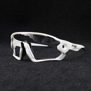 Image 5 - 2019 renkli fotokromik bisiklet gözlük UV400 erkek MTB bisiklet bisiklet sürme gözlük TR90 açık spor polarize güneş gözlüğü