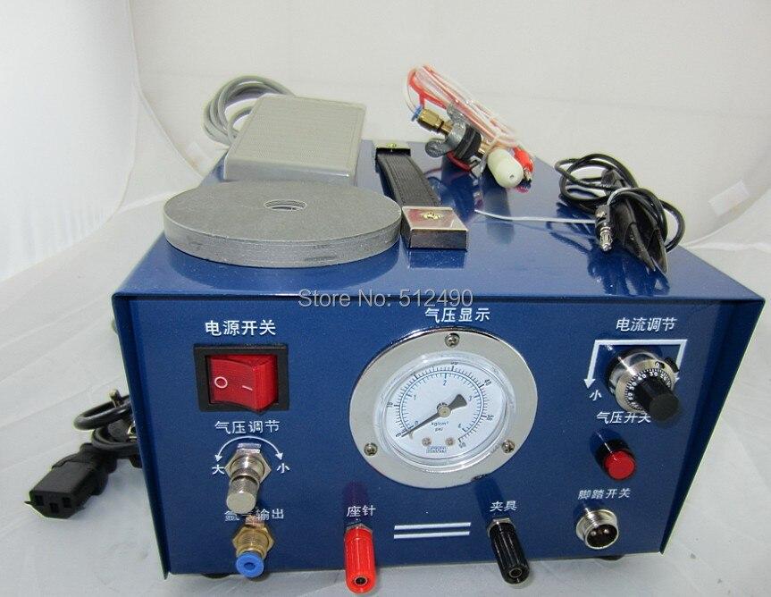necklance making machinemini argon welding machinejewelry sparkle welderjewelry gold welding machine 220V with1 electrode