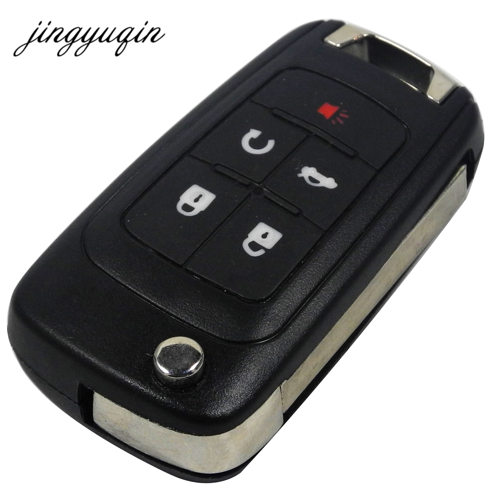 jingyuqin Flip Folding Remote Key Shell 5 BTN for Vauxhall Opel for Buick Excelle Verano LaCrosse Regal Housing Fob Casejingyuqin Flip Folding Remote Key Shell 5 BTN for Vauxhall Opel for Buick Excelle Verano LaCrosse Regal Housing Fob Case