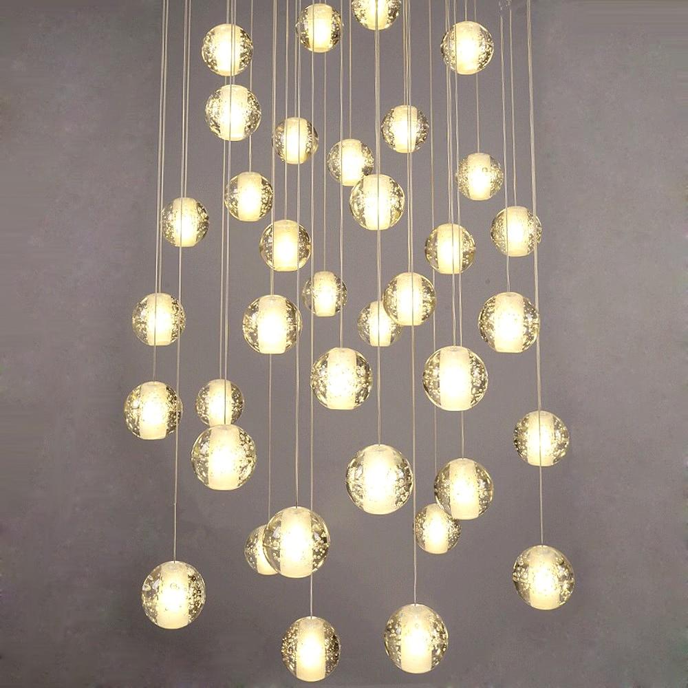 Image 3 - G4 moderno led pandant luzes múltiplas escadas luminárias moda  sala de estar quarto restaurante jantar cozinha iluminaçãopandant  lightlamp fixtureskitchen light