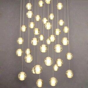 Image 3 - Modern G4 LED Pandant Lights Multiple Staircase Lamps Fixtures Fashion Living Bedroom Decora Restaurant Dining Kitchen Lighting