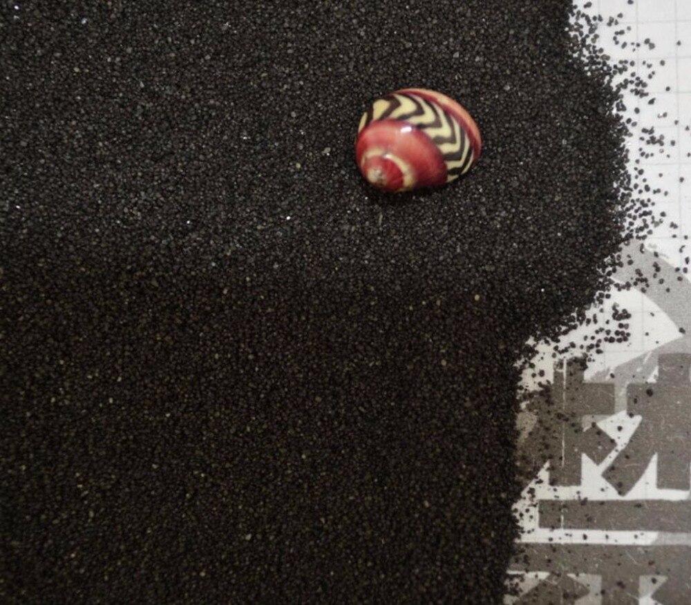 1 кг черный речного песка для фантазии миниатюры Фея Садовый Гном Moss Террариум декора ремесла Карликовые деревья DIY украшения
