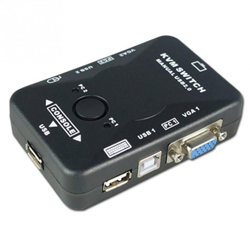 2 Port Host sharers game converter KVM Switcher