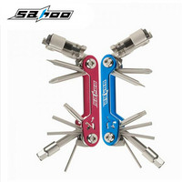 SAHOO 17 In 1 Multifunction Bicycle Repair Tools Kit Hex Spoke Cycling Screwdriver Tool MTB Mountain