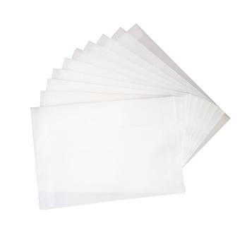 100pcs/lot Blank Translucent vellum envelopes DIY Multifunction Gift card envelope with seal sticker for wedding birthday 1