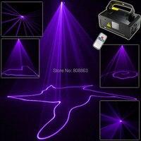 Violet Purple Laser Lines Beam Scans Remote DJ Dance Bar Xmas Party Disco DMX Lighting Effect Light Stage Light System Show B192