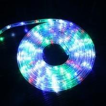 30-100M LED Strip lights AC Plug Street Garland Fairy Festoon Decorations for Building House Garden billboard Landscape Lamps