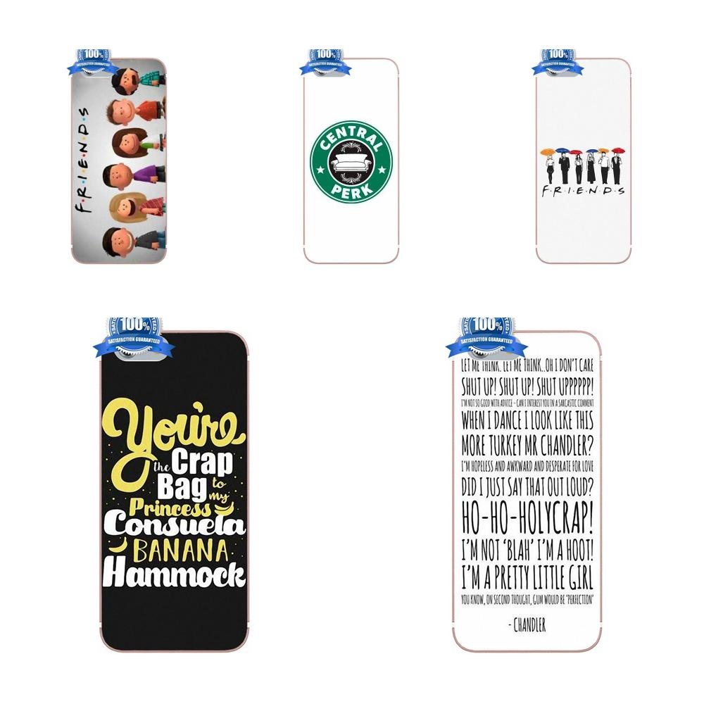 Design Cell Phone Case For Xiaomi Redmi 5 4A 3 3S Pro Mi4 Mi4i Mi5 Mi5S Mi Max Mix 2 Note 3 4 Plus Friends Tv Show Characters