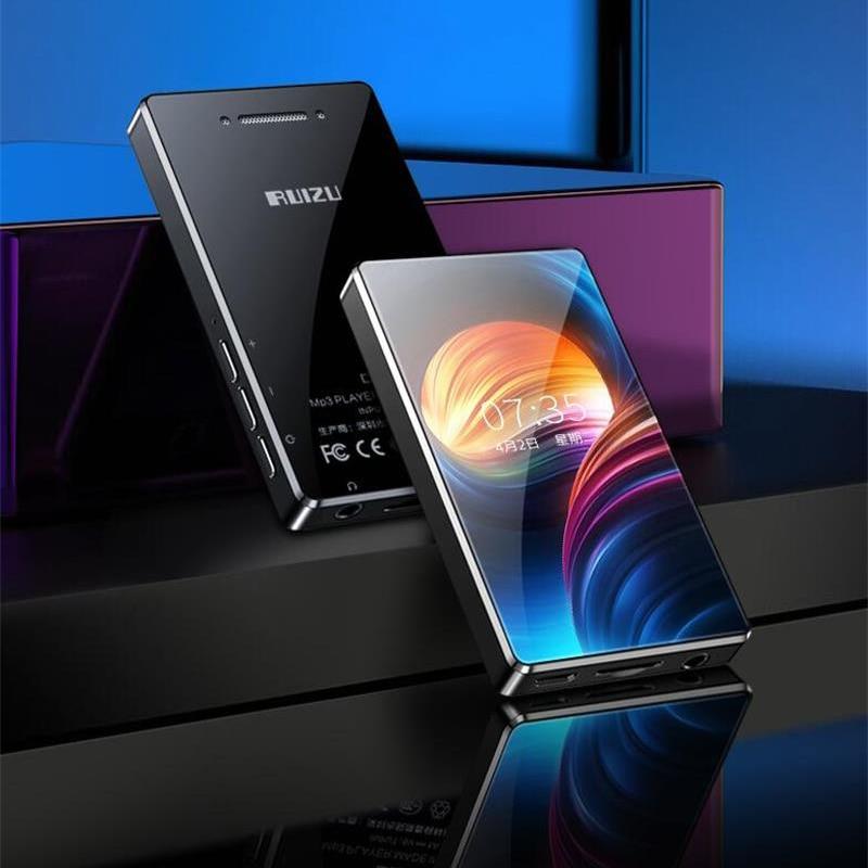 Новейшая версия RUIZU D20, полноразмерный сенсорный экран 3,0 дюймов, mp3-плеер, встроенный динамик без потерь, музыкальный плеер с FM, видео плеер, 2019