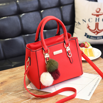 AiiaBestProducts Women Solid Color Handbag 3