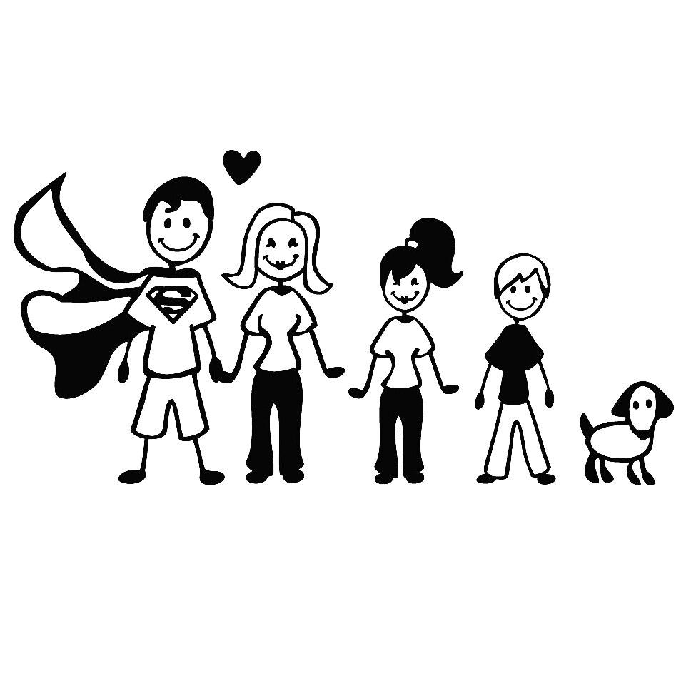 Las 9 Mejores Adhesivos De Familia Para Autos Ideas And Get