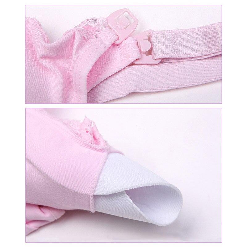 Для беременных пижамы для беременных Для женщин удобные мягкие Беспроводной сорочка платья без рукавов для беременных Топы кормление груд...