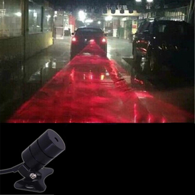 Car Styling Tail Laser Fog Lamp Safety Warning Lights For Acura Rlx