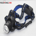 Head light head lamp XML T6 2X zoomable adjustable 2000 lumen 500 meter headlamps flashlight led headlight for 2x18650 Battery