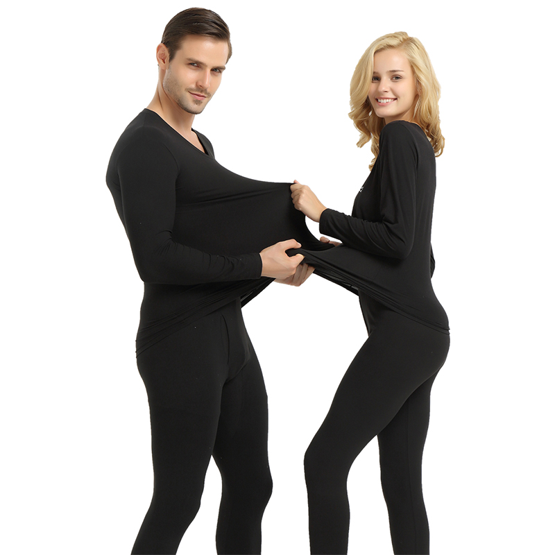 Women Winter Warm Modal Thermal Underwear Women Long Johns -5803