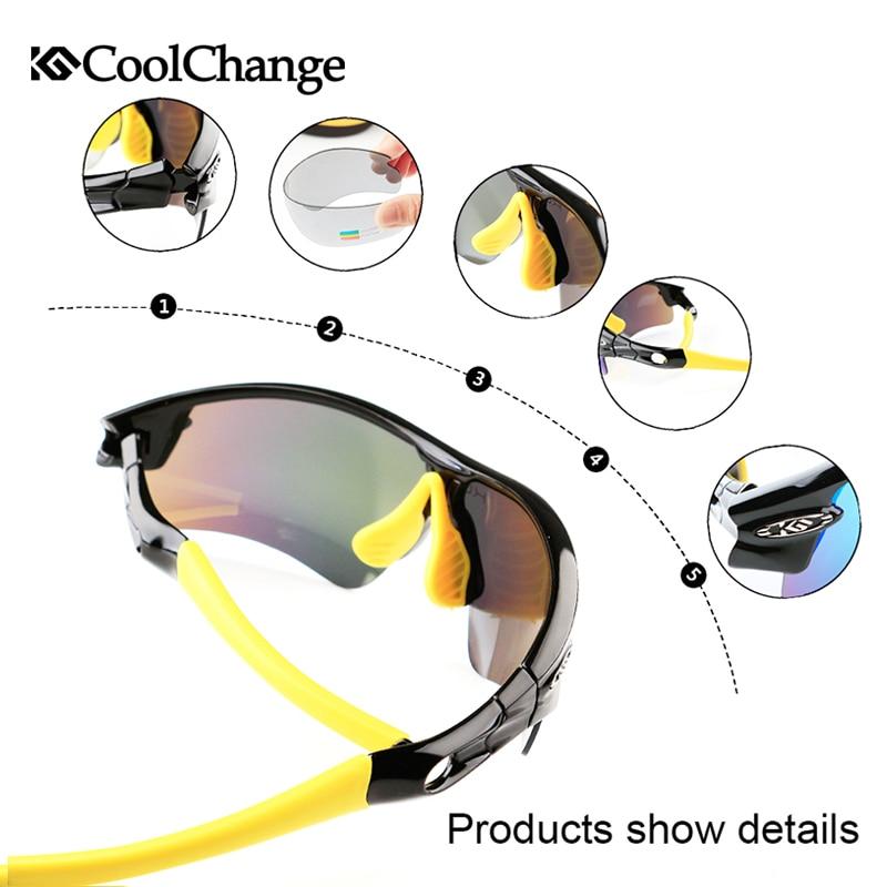 CoolChange Biciklističke naočale Polarizirane sunčane naočale - Biciklizam - Foto 3