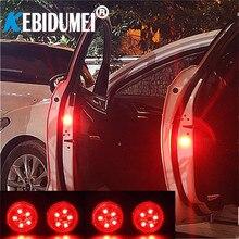 Новинка, 5 светодиодов, предупреждающие огни для открывания двери автомобиля, беспроводной магнитный дизайн, стробоскоп, мигающий, защита от столкновения сзади, Лампы Безопасности