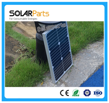 Solarparts 10x18W glass laminated high efficiency solar module cell panel back contact charge 12V battery RV/Marine/Roof/Battery
